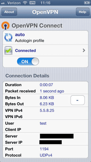 OpenVPN Connect for iOS