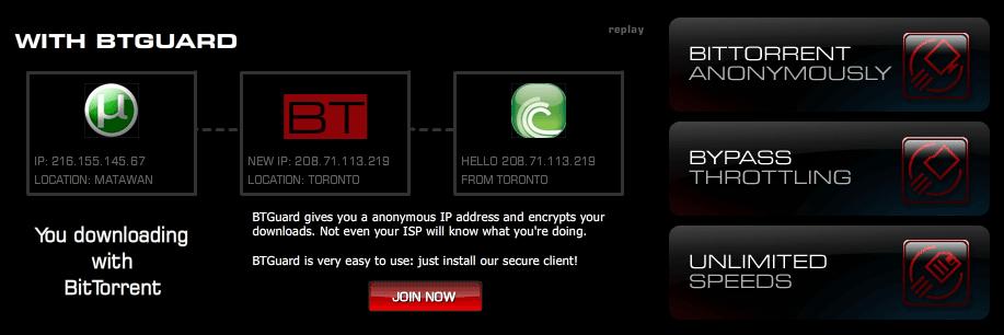 BTGuard Anonymous SOCKS proxy