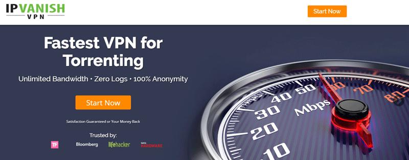 IPVanish is the fastest zero-log VPN