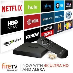 Amazon FireTV second generation