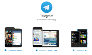 Telegram Encrypted Messenger