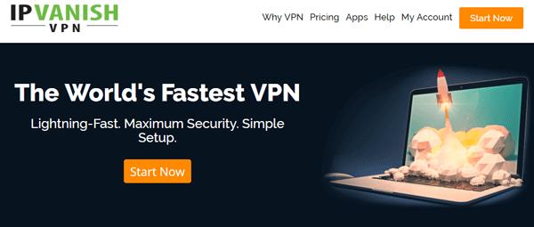 IPVanish is the #1 fastest gaming VPN