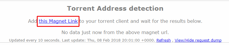 torrent IP magnet link