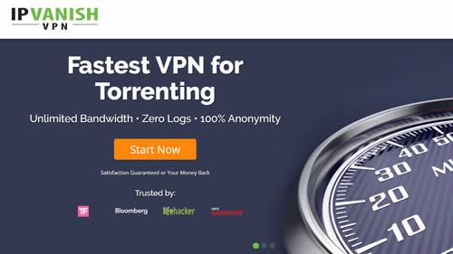 IPVanish advertised as the fastest VPN for torrenting